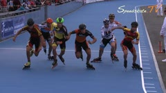 MediaID=38008 - Flanders Grand Prix 2015 - Junior A men, 1.000m semifinal1