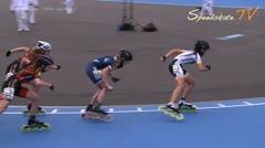 MediaID=38009 - Flanders Grand Prix 2015 - Junior B women, 1.000m semifinal2