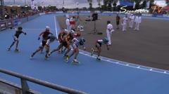 MediaID=38012 - Flanders Grand Prix 2015 - Junior B women, 1.000m semifinal1