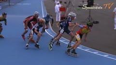 MediaID=38016 - Flanders Grand Prix 2015 - Junior B men, 1.000m semifinal1