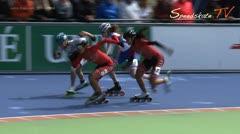 MediaID=38023 - Hollandcup 2016 - Junior A women, 500m final