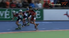 MediaID=38032 - Hollandcup 2016 - Junior B men, 500m final