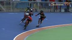 MediaID=38042 - Hollandcup 2016 - Senior women, 500m sprint semifinal1
