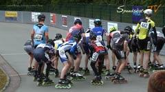 MediaID=38047 - 38. Int. Speedskating Kriterium Gross-Gerau 2016 - Cadet Boys, 3.000m points final