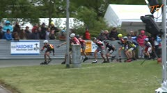 MediaID=38051 - 38. Int. Speedskating Kriterium Gross-Gerau 2016 - Cadet Boys, 1.000m final