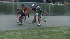 MediaID=38081 - Int. Speedskating Event Mechelen 2016 - Senior men, 500m sprint semifinal1