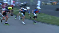 MediaID=38083 - Int. Speedskating Event Mechelen 2016 - Cadet Girls, 3.000m points final