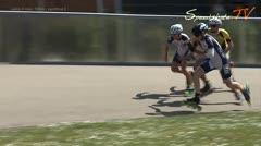 MediaID=38087 - Int. Speedskating Event Mechelen 2016 - Junior A men, 500m semifinal2
