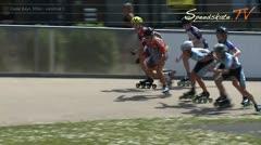 MediaID=38088 - Int. Speedskating Event Mechelen 2016 - Cadet Boys, 500m semifinal2