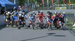 MediaID=38090 - Int. Speedskating Event Mechelen 2016 - Cadet Boys, 3.000m points final