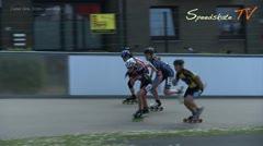 MediaID=38092 - Int. Speedskating Event Mechelen 2016 - Cadet Girls, 500m semifinal2