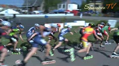 MediaID=38095 - Int. Speedskating Event Mechelen 2016 - Senior men, 5.000m points final