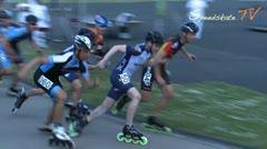 MediaID=38096 - Int. Speedskating Event Mechelen 2016 - Junior B men, 3.000m points final