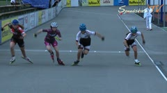 MediaID=38115 - 11.Internationales Speedskate Kriterium W - Junior A women, 500m semifinal1