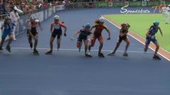 MediaID=38249 - European Championship 2016 - Junior B women, 3.000m relay final