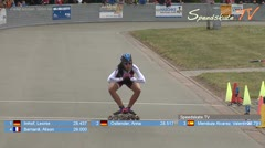MediaID=38421 - 39. Int. Speedskating Kriterium Gross-Gerau 2017 - Cadet women, 300m time final