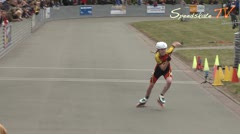 MediaID=38437 - 39. Int. Speedskating Kriterium Gross-Gerau 2017 - Cadet women, 300m time final