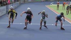MediaID=38520 - Holland Cup 2017 - Junior A women, 500m semifinal2