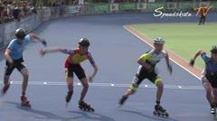 MediaID=38527 - Holland Cup 2017 - Cadet men, 500m semifinal1