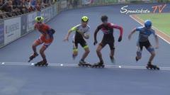 MediaID=38537 - Holland Cup 2017 - Junior B men, 500m semifinal1