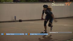 MediaID=38558 - Int. Speedskating Event Mechelen 2017 - Junior B women, 300m time final