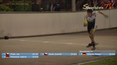 MediaID=38564 - Int. Speedskating Event Mechelen 2017 - Junior B men, 300m time final