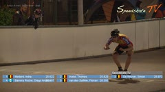 MediaID=38571 - Int. Speedskating Event Mechelen 2017 - Junior A men, 300m time final