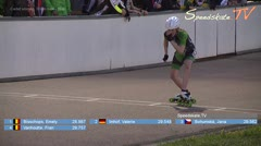 MediaID=38579 - Int. Speedskating Event Mechelen 2017 - Cadet women, 300m time final