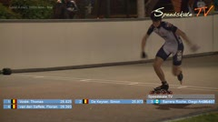 MediaID=38580 - Int. Speedskating Event Mechelen 2017 - Junior A men, 300m time final