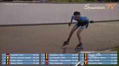MediaID=38583 - Int. Speedskating Event Mechelen 2017 - Cadet men, 300m time final