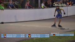 MediaID=38587 - Int. Speedskating Event Mechelen 2017 - Cadet women, 300m time final