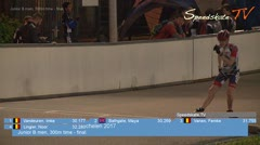 MediaID=38605 - Int. Speedskating Event Mechelen 2017 - Junior B women, 300m time final
