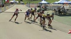 MediaID=38611 - 12.Int. Speedskate Kriterium Wörgl - Senior men, 1.000m semifinal2