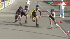 MediaID=38614 - 12.Int. Speedskate Kriterium Wörgl - Senior men, 500m semifinal2