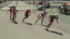 MediaID=38615 - 12.Int. Speedskate Kriterium Wörgl - Junior A women, 1.000m semifinal1