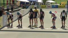 MediaID=38616 - 12.Int. Speedskate Kriterium Wörgl - Junior A men, 1.000m semifinal2