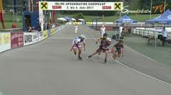MediaID=38618 - 12.Int. Speedskate Kriterium Wörgl - Senior women, 500m final
