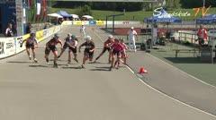 MediaID=38621 - 12.Int. Speedskate Kriterium Wörgl - Junior A women, 1.000m final