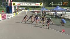 MediaID=38622 - 12.Int. Speedskate Kriterium Wörgl - Senior women, 500m semifinal2