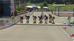 MediaID=38623 - 12.Int. Speedskate Kriterium Wörgl - Senior men, 1.000m semifinal1