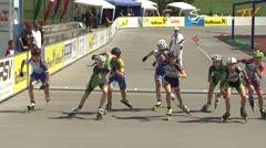 MediaID=38624 - 12.Int. Speedskate Kriterium Wörgl - Cadet women, 1.000m final