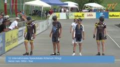 MediaID=38628 - 12.Int. Speedskate Kriterium Wörgl - Senior women, 500m final