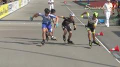 MediaID=38634 - 12.Int. Speedskate Kriterium Wörgl - Cadet men, 500m semifinal1