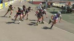 MediaID=38636 - 12.Int. Speedskate Kriterium Wörgl - Junior A men, 1.000m final