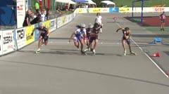 MediaID=38641 - 12.Int. Speedskate Kriterium Wörgl - Senior women, 500m semifinal1