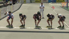 MediaID=38646 - 12.Int. Speedskate Kriterium Wörgl - Senior women, 1.000m semifinal1