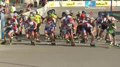 MediaID=38658 - 12.Int. Speedskate Kriterium Wörgl - Cadet women, 3.000m points final