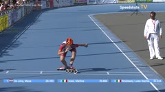 MediaID=38683 - Flanders Grand Prix 2017 - Junior A women, 300m time final