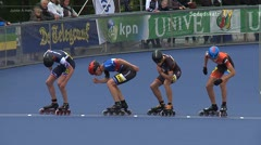 MediaID=38943 - Netherland championship Track+Road - Junior A men, 500m semifinal2