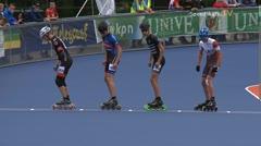 MediaID=38946 - Netherland championship Track+Road - Junior B men, 500m final